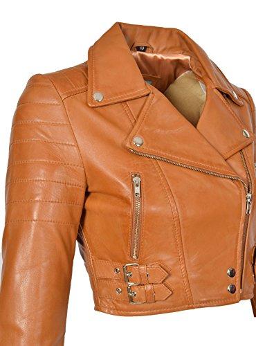 A1 mujer piel Goods Manga Jacket Fashion marr larga rrwABq