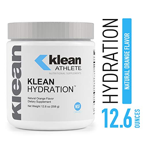 Klean Athlete - Klean Hydration - Electrolyte Replacement Formula to Hydrate, Maintain Electrolyte Balance, and Rehydrate During Physical Activity* - Natural Orange Flavor - 12.6 oz (358 g)