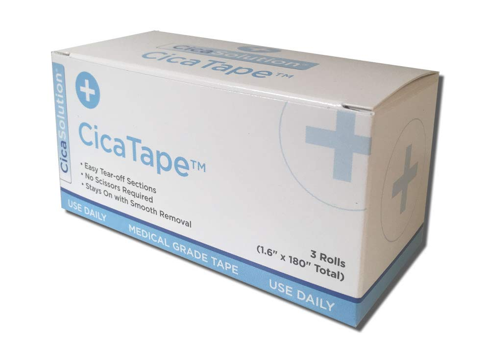 CicaTape Soft Silicone Medical Tape (1.6in x 180in)