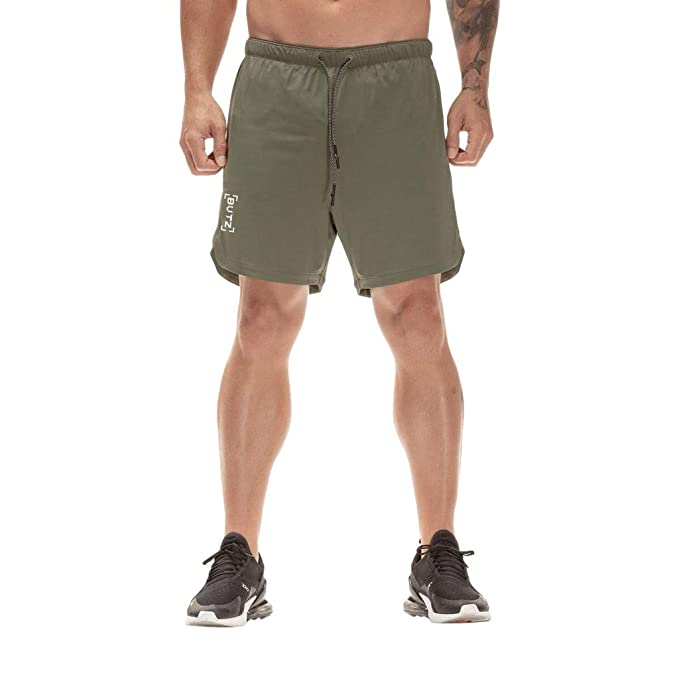 Amazon.com: Pantalones cortos aiNMkm de lino para hombre ...