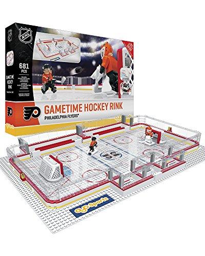 OYO NHL Philadelphia Flyers Full Rink Set, Small, Black