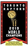 Toronto Raptors 2019 World Champions Banner Plus Bonus Pendant Necklace (3ft by 5ft)