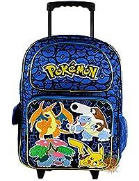 "Pokemon "" Group Shot"" Rolling Backpack, 16"""