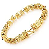 Dalino Fashion and Personality Exquisite Gold-Plated Jewelry Domineering Personality Bracelet