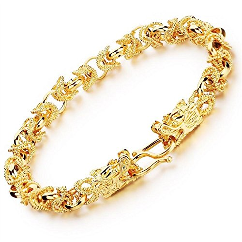Dalino Fashion and Personality Exquisite Gold-Plated Jewelry Domineering Personality Bracelet by Dalino