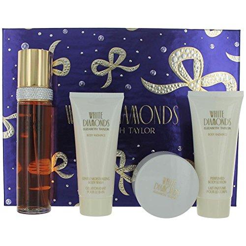 White Diamonds Moisturizing Perfume - White Diamonds Gift Set by Elizabeth Taylor