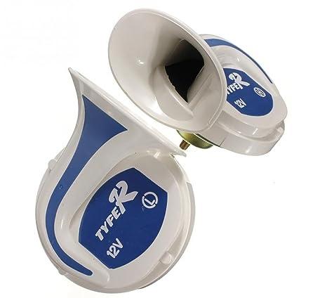 Van Horn Auto >> Amazon Com Masleid 1pair 12v 150db Tone Loud Horn Auto