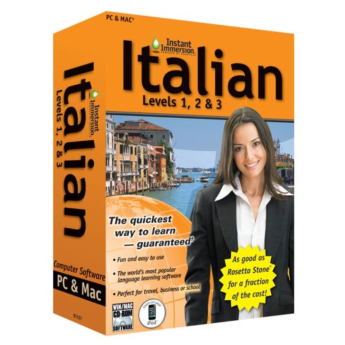 Price comparison product image (2011 Version) Instant Immersion Italian Levels 1,  2 & 3