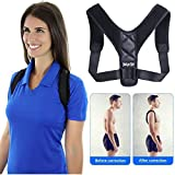 Back Posture Corrector for Men and Women, Neck and Shoulder Support, Upper Back Pain Relief, Effective and Comfortable, Clavicle Support, Kyphosis Posture Corrector