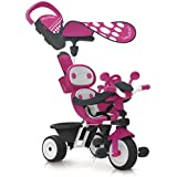 Smoby - 740600 - Baby Driver Confort - Tricycle - Rose