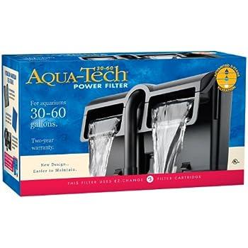 AquaTech Power Aquarium Filter, 30 to 60-Gallon Aquariums