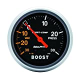 Auto Meter 3403 Sport-Comp Mechanical Boost/Vacuum Gauge