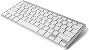 D Dingrich Ultra Compact Slim Profile Wireless Bluetooth Keyboard Compatible for Windows,iOS,Android,Mac System, iPad 10.2, iPhone 11/11 Pro, iPhone Xs/X Max with Superior Life