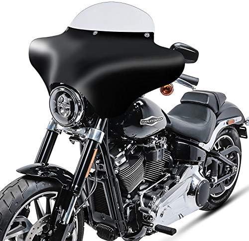 Batwing Verkleidung MW8 f/ür Harley Davidson Heritage Softail Classic 114