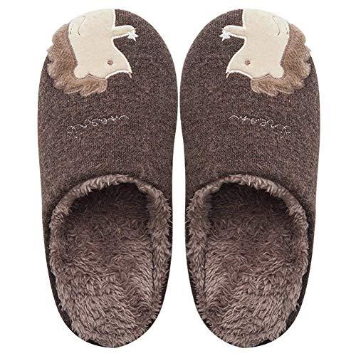 Chaussons d'intérieur Mousse Maison Chaud YOOEEN Chaussures Douce Dessin Café Peluche à Enfant Mignon Maison Coton mémoire Confort Pantoufle Hommes Mixte Animé Femmes la Hiver 6wIOtIq