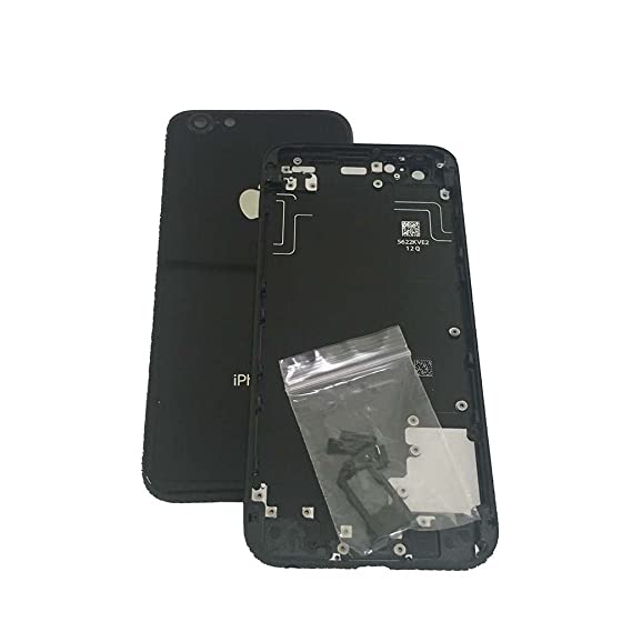best website 79dfe 7cf75 Amazon.com: Rear Housing Metal Battery Door Back Glass Cover Case ...