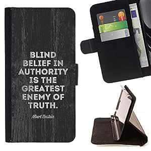 Momo Phone Case / Flip Funda de Cuero Case Cover - Vérité Mouvement politique - Sony Xperia Z5 5.2 Inch (Not for Z5 Premium 5.5 Inch)