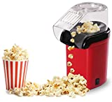 toastess glass kettle - Popcorn Machine Maker Small Pop Pup 16 Cups, Home Kitchen Party Snack, Red