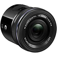 Olympus Air A01 Black Body with Black 14-42mm EZ Lens Key Pieces Review Image