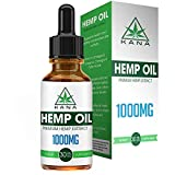 1000mg Hemp Oil Drops – All-Natural Extract – Peppermint Flavored – Contains Heart Healthy Fatty Acids – Encourages Relaxation – 30ml Bottle – 30 Day Supply – Kana Review