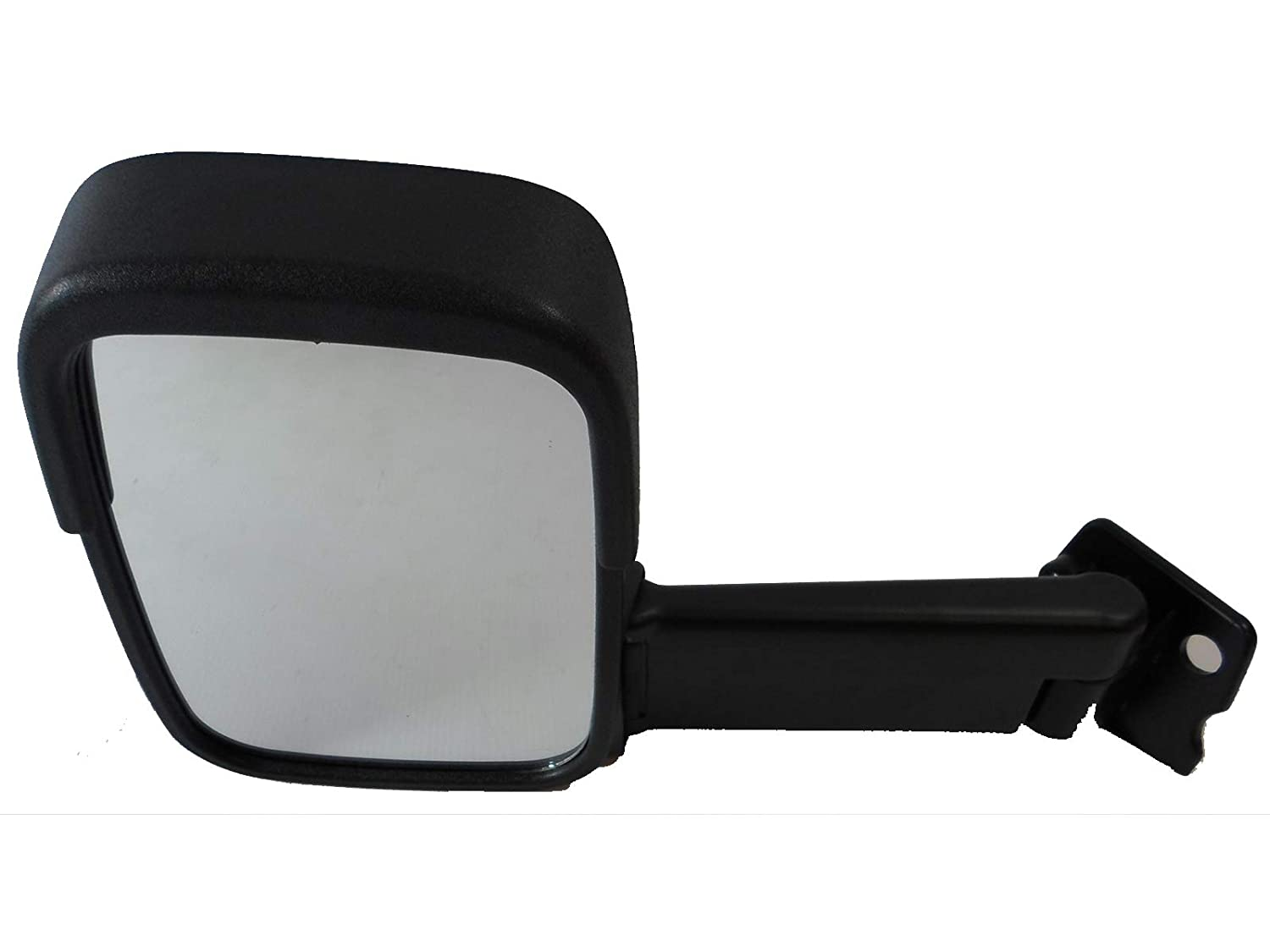 Van Demon Left Hand Long Arm Manual Door Mirror with Wind Shield for Ford Transit (86-94) MM323