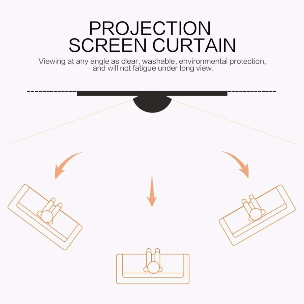 ELCOR Manual Auto-Lock Series, Projector Screen, 4:03 Aspect Format, on