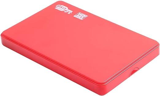 gazechimp 外付ハードディスクドライブ USB3.0 SATA HDD モバイルハードディスク 高速 薄型 プラスチック - 2T