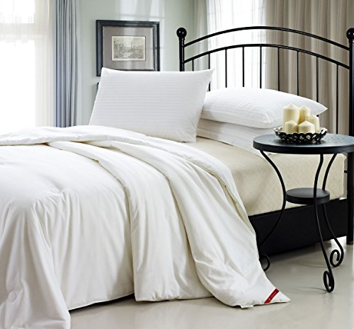 Silklover Handmade Pure Top grade Mulberry Silk Comforter with Cotton Satin Cover King Size 106