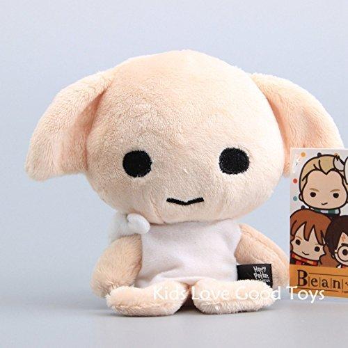 L New Harry Potter Beans Dobby Beanie Plush Toy Soft Stuffed Doll 5