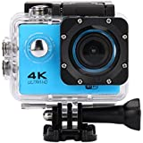 Fashion Egmy Sell Waterproof 4K SJ60 Wifi HD 1080P Ultra Sports Action Camera DVR Cam Camcorder (Blue)