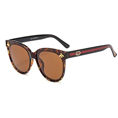MAlex Nuevas Gafas Sol Polarizadas Moda Cat Eyes Big Ladies Glasses: Hogar