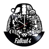 Cheap Fallout 4 Design Vinyl Record Wall Clock – Wonderful home room or garage wall art decoration – Fancy gift idea for his or her