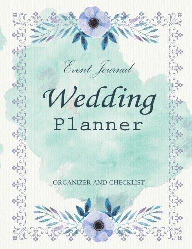wedding planner my wedding event journal organizer checklist