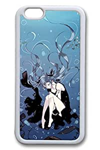 Anime Girl Seabed Cute Hard Cover Case For Samsung Note 4 Cover PC White Cases