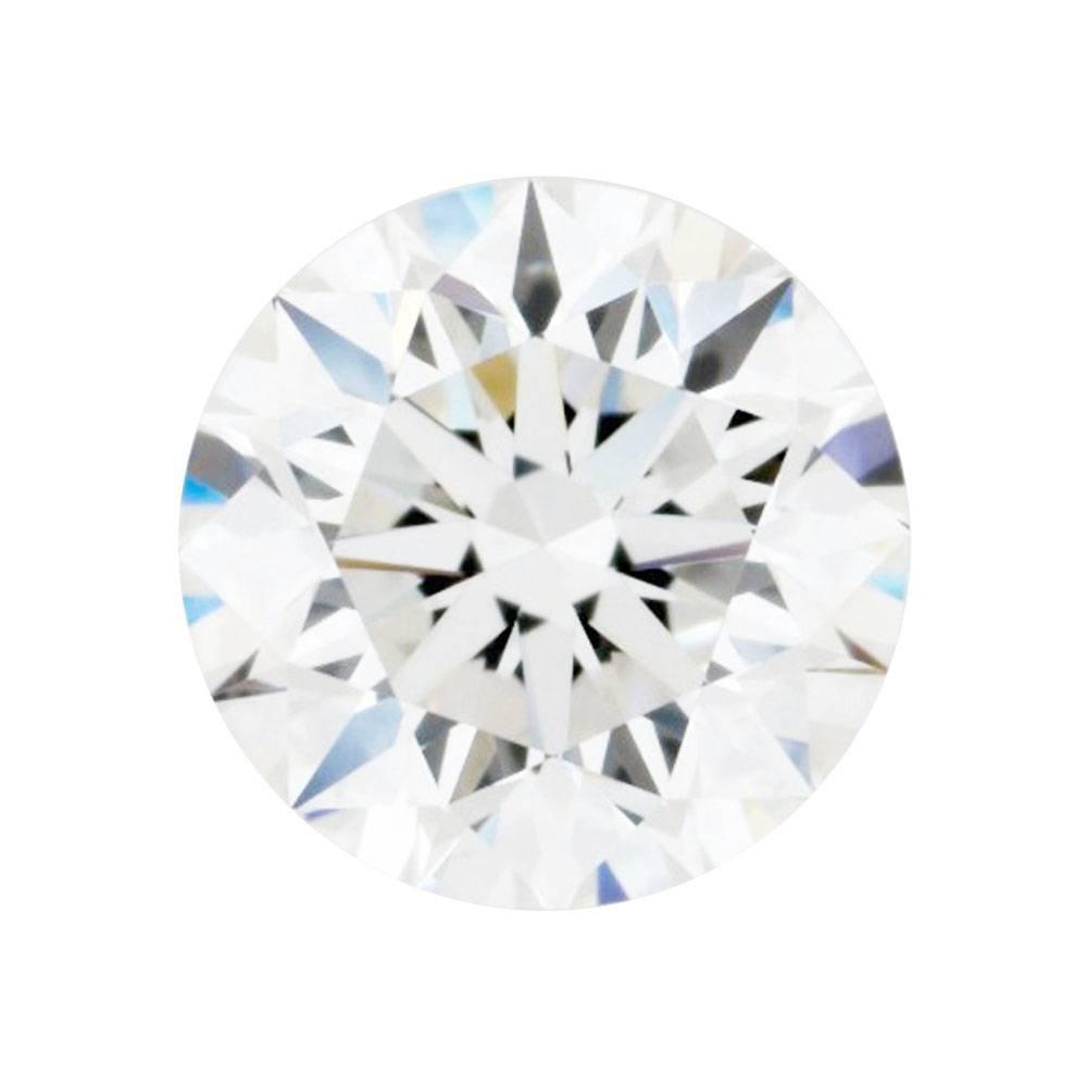 GW Gems 0.44 Carat 5.2 MM H-I Color VVS Clarity Excellent Round Cut Loose Moissanite for Ring & Pendant