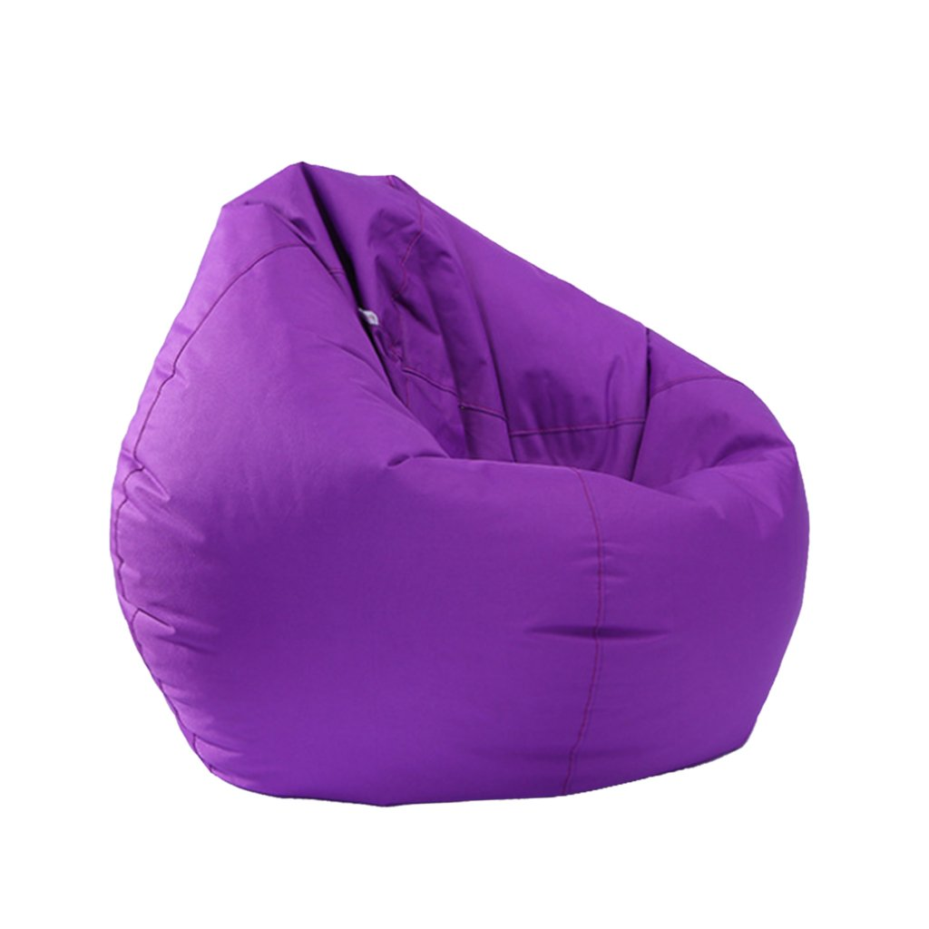 Fityle 11 Colors Available, Kids Stuffed Animal Storage Bean Bag Cover Waterproof For Plush Toys Clothes - Purple