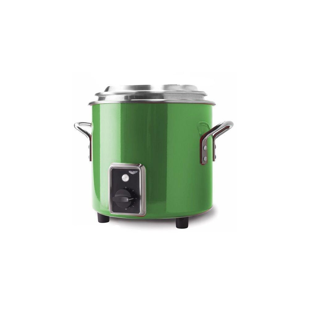 Vollrath 11 Qt. Green Apple Finish Stock Pot Kettle Rethermalizer