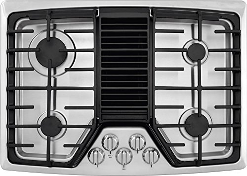"""Frigidaire RC30DG60PS 30"""" Gas Sealed Burner Style Cooktop with 4 Burners, in Stainless Steel"""