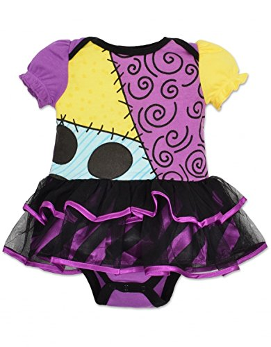 Baby Girls' Harlequin Demon Tutu Bodysuit Costume (6-12 Months) (Halloween Costume Nightmare Before Christmas)