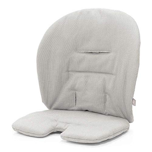 Stokke Steps Baby Set Cushion, Timeless Grey (Stokke High Chair Cushion)