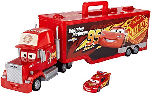 Disney Pixar Cars 3 Mack Portable Playcase [Amazon Exclusive] - Hauler Truck Playset