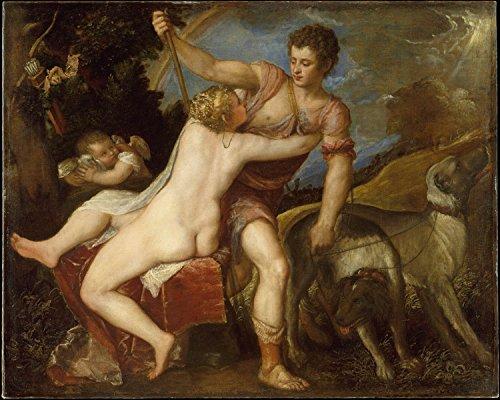 Poster - Venus and Adonis 16