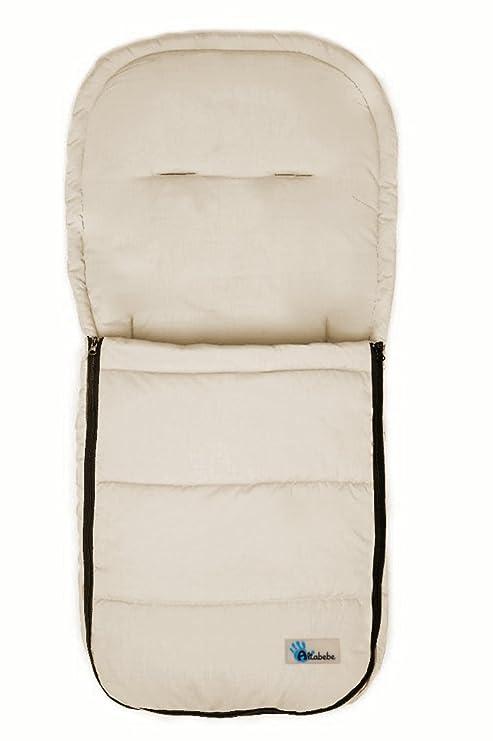 Altabebe AL2200 - 03 - Saco de abrigo para carrito, color beige