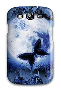 Premium Protection Butterfly Case Cover For Galaxy S3- Retail Packaging