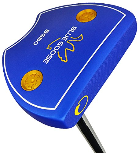 Ray Cook Golf Blue Goose BG50 Mallet Putter, - Blue Ray