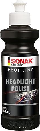 Sonax Profiline Headlightpolish 250 Ml Spezielle Schleifpaste Zur Auffrischung Von Vergilbten Und Vermatteten Scheinwerfern Aus Kunststoff Art Nr 02761410 Auto
