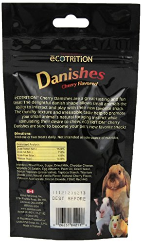 eCotrition-EC-84211-2-Ounce-Danishes-Animal-Treat-Small-Cherry-Flavored