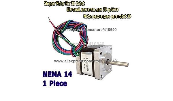 AiCheaX Tool - Motor paso a paso para impresora 3D 14HS13-0804S ...