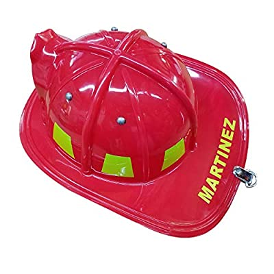 Aeromax Personalized Firefighter Helmets (Red): Clothing
