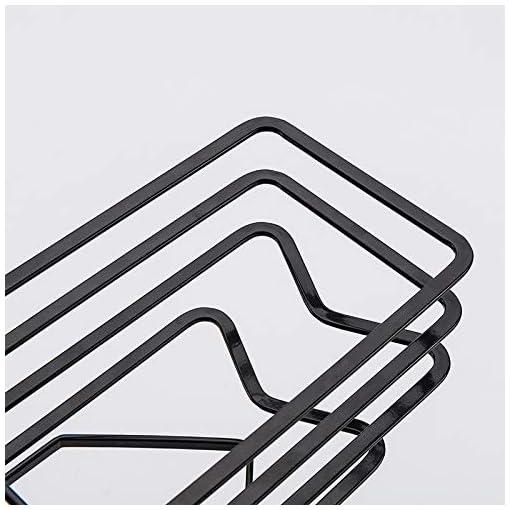 Kitchen SUNFCON Cutting Board Rack Chopping Board Organizer Stand Holder Kitchen Countertop Pots Pan Lids Rack Organizer Flat… pot lid holders